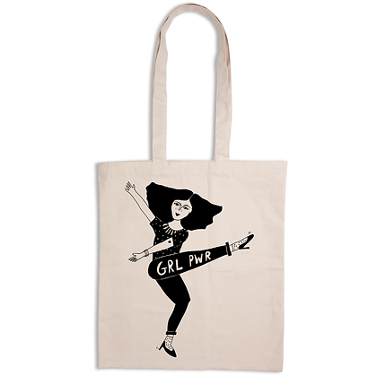 Helen B - Tote Bag Girl Power