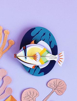 Animal 3D à construire - Grand Poisson Picasso