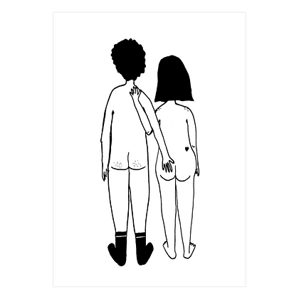 Helen B - Carte postale Couple arriere