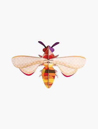 Insecte 3D à construire - Abeille à miel