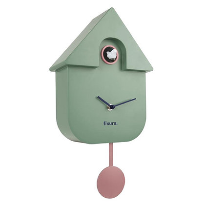 Horloge Coucou Verte