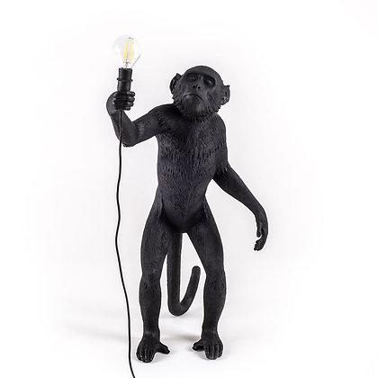 Seletti - Singe debout noir