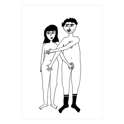 Helen B - Carte postale Couple avant