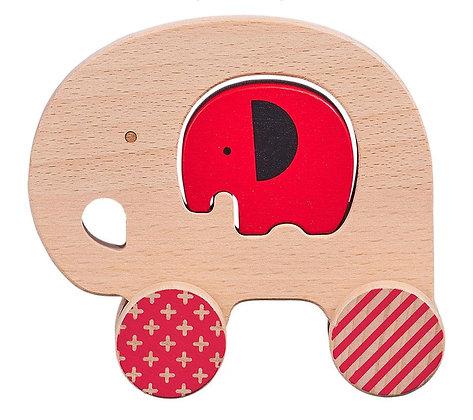 Jouet en bois - Éléphant