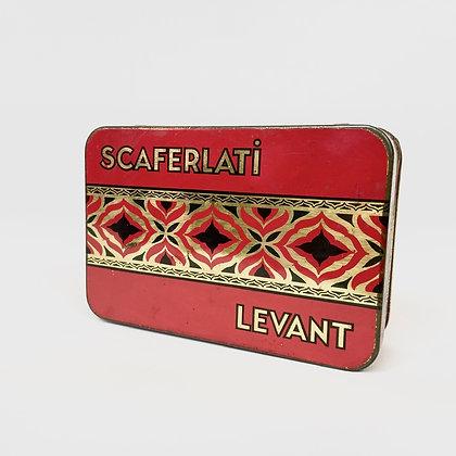 Vintage - Boite Scaferlati Levant