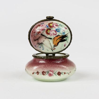 Vintage - Petite boite en porcelaine