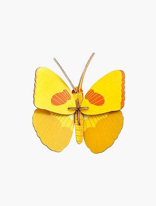 Insecte 3D à construire - Papillon jaune