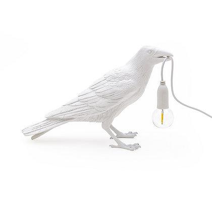 Seletti - Oiseau à poser blanc