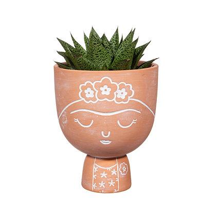 Porte plante Frida Kahlo