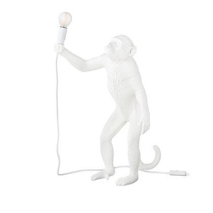 Seletti - Singe debout blanc