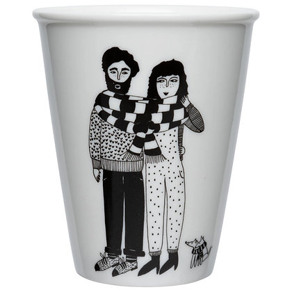 Helen B - Gobelet Couple écharpe