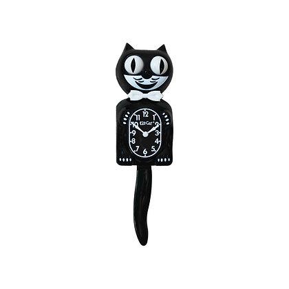 Kit-Cat Clock Noir - Horloge Chat Noire