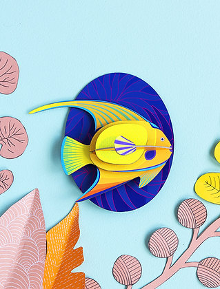 Animal 3D à construire - Grand Poisson Ange