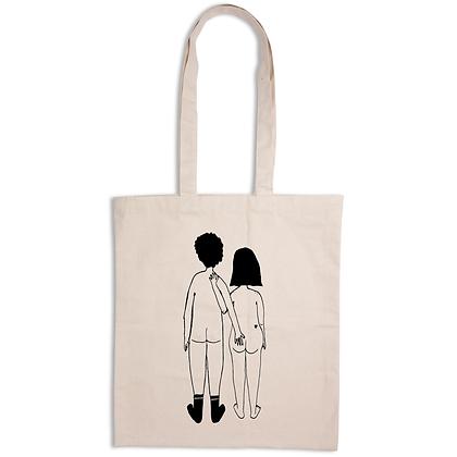 Helen B - Tote Bag Couple