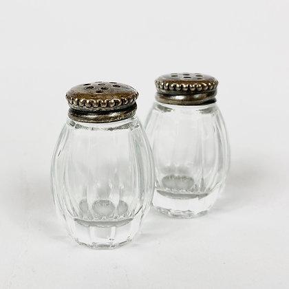 Vintage - Salière et poivrière Christofle