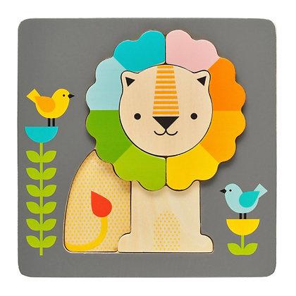 Puzzle en bois - Lion