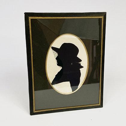 Vintage - Cadre silhouette