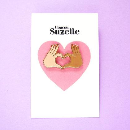 Coucou Suzette - Pins Amour