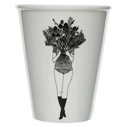 Helen B - Gobelet Femme fleurs