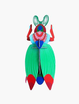 Insecte 3D à construire - Grand scarabée