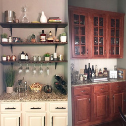 Bar area before with dark cherry cabinets....jpg