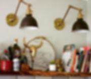 Gold + Black, marble, handmade tiles, live edge cedar....jpg
