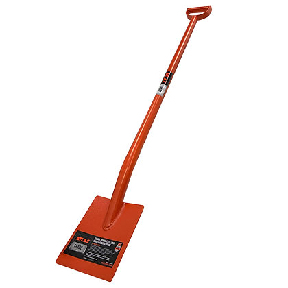 Atlas Trade Square Mouth Steel Long Handle Fencing Spade
