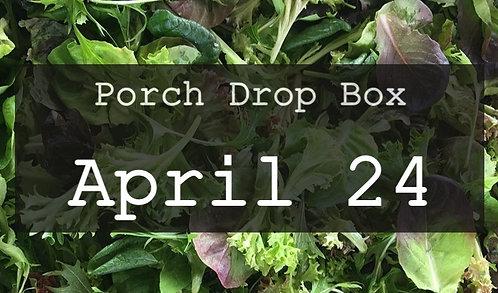 Porch Drop Box- April 24