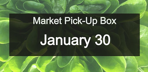 Market Pick-Up Box: January 30