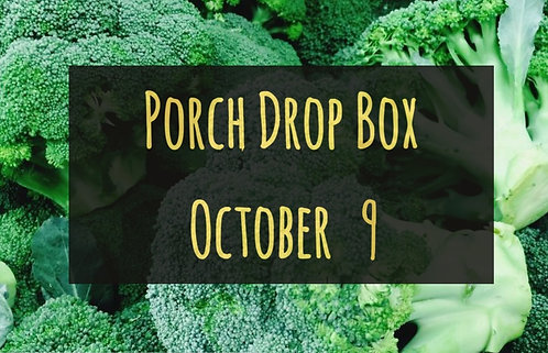 Porch Drop Box- October 9