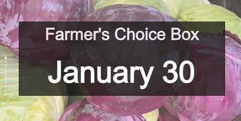Farmer's Choice Veggie Box- Jan 30