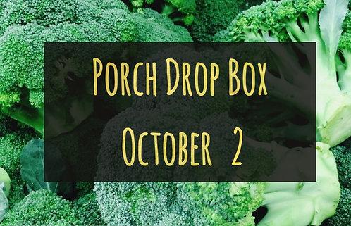 Porch Drop Box- October 2