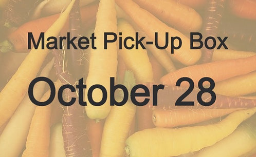 Market Pick-Up Box: October 28