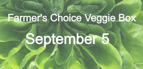 Farmer's Choice Veggie Box- September 5
