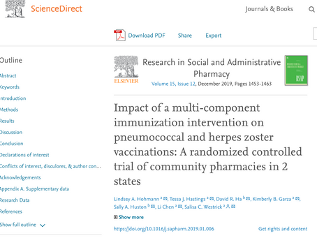 Our WeImmunize Paper is now live