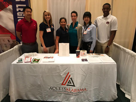 Successful participation in Alabama Pharmacy Association Annual Convention
