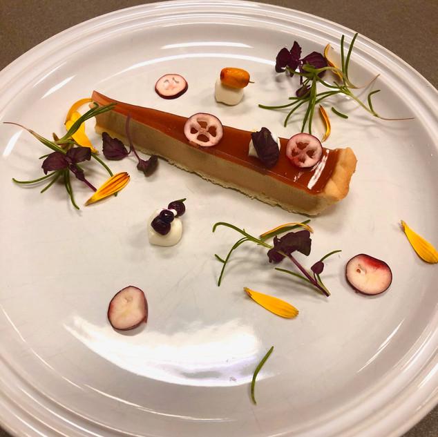 Tarte au foie gras