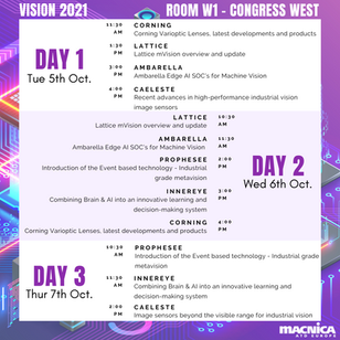 Macnica ATD Europe with own Conference Program at VISION 2021