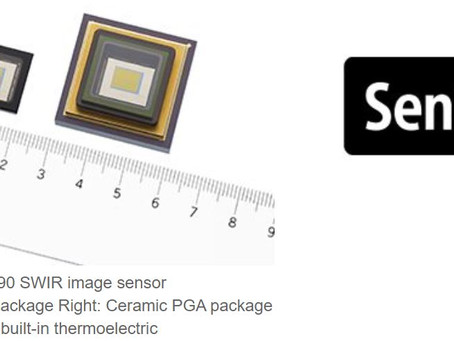 New CMOS-like InGaAs Image Sensors from Sony makes SWIR technology marketable