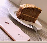 GG's coffee Hub Cake