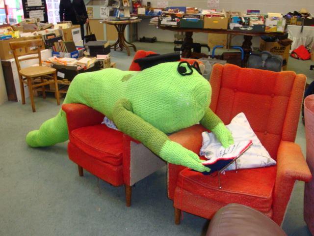 Ralph the Bookworm