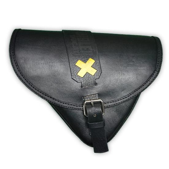 Aflorja Scrambler Negra/Black and Yellow Scrambler Saddlebag