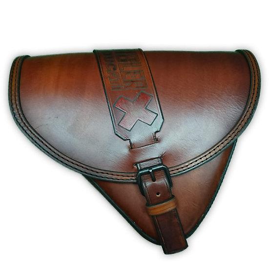 Aflorja Scrambler Marrón/Brown Scrambler Saddlebag