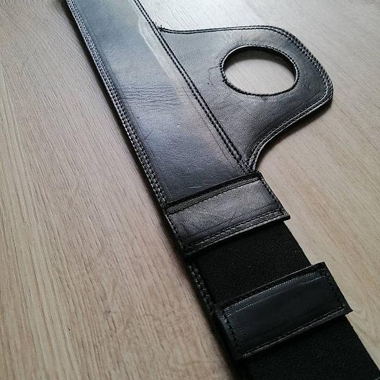Corbata de Depósito Triumph Black / Triumph Leather Strap
