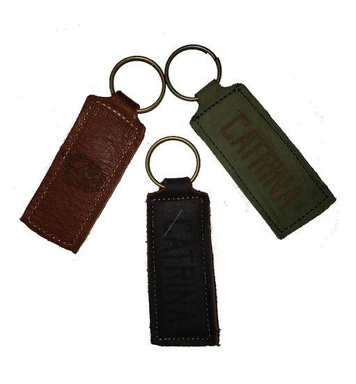 Llavero de Piel Genuina/Genuine Leather Key Chain
