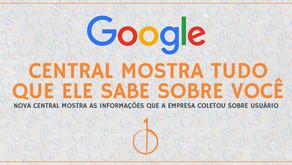 Este site do Google mostra tudo que ele sabe sobre você