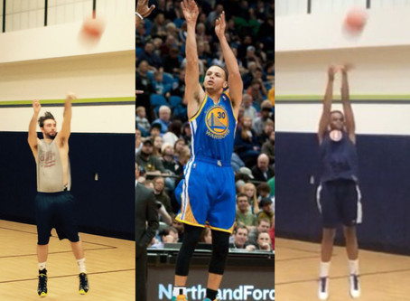 Getting In Touch With Our Inner Steph Curry