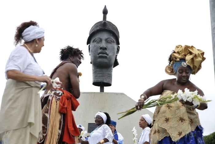 Comemoração do Dia da Consciência Negra no Rio de Janeiro, capital.