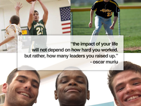 It's About Building Leaders, Through Sports