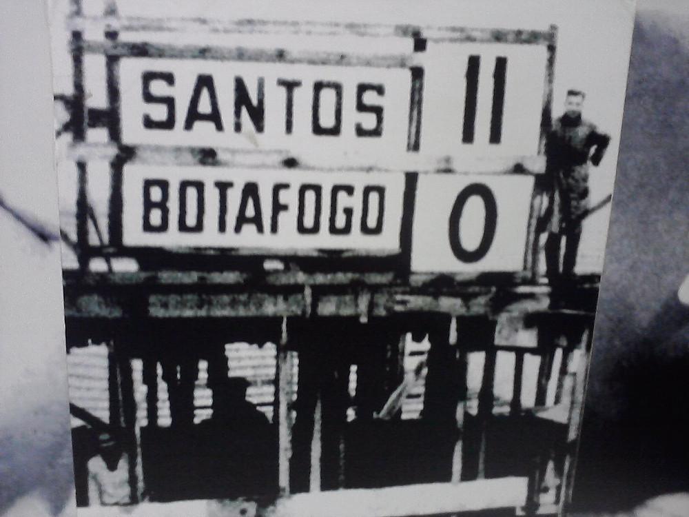 Santos 11 X 0 Botafogo-SP